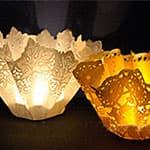 中秋节制作漂亮简单的莲花灯