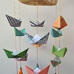简单漂亮的小船挂饰制作过程