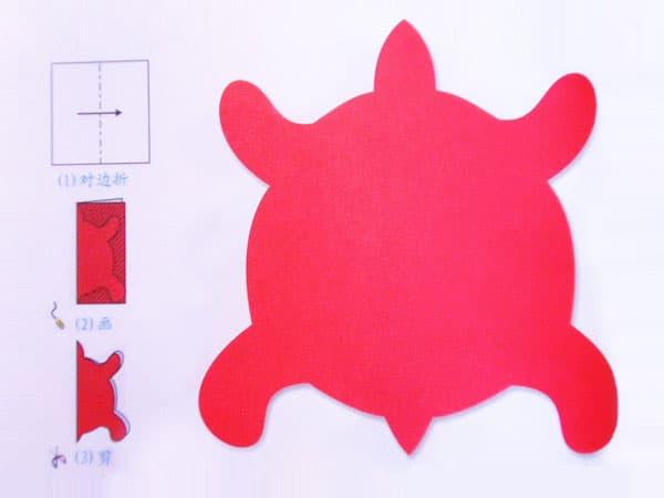 幼儿手工立体剪纸苹果 儿童手工制作网图片
