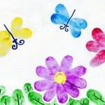 幼儿园手工教程——指印画 - bbfish - 宝宝乐园 幼儿手工 育儿