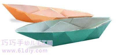 小船折纸1