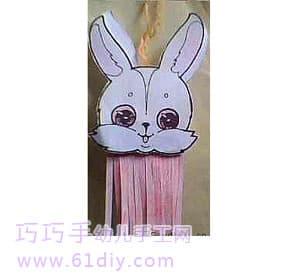 幼儿园手工——小白兔灯笼