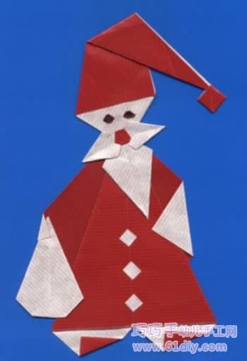 各种圣诞老人的 剪贴 画 作品 精彩贴画 61diy巧
