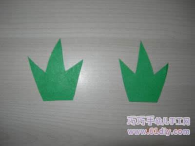 纸杯手工制作 绿菠萝图片