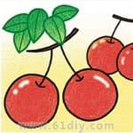 水果的画法教程 - bbfish - 宝宝乐园