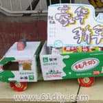 幼儿园环保手工制作小汽车 - bbfish - 宝宝乐园 幼儿手工 育儿