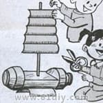 各种有关船的手工 - bbfish - 宝宝乐园 幼儿手工 育儿