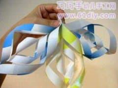旋转纸星星的折法图解