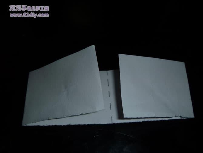 小猫咪立体折纸图解2