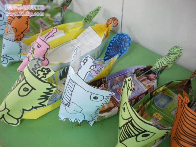 幼儿园端午节小制作:龙舟