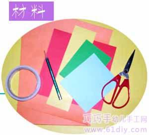 幼儿园手工——小花篮编织教程