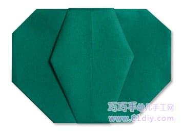 南瓜折纸图解(蔬菜类)