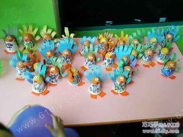感恩节手工作品幼儿园图片欣赏