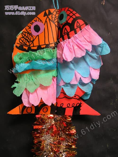 手工制作吉祥的新年鱼