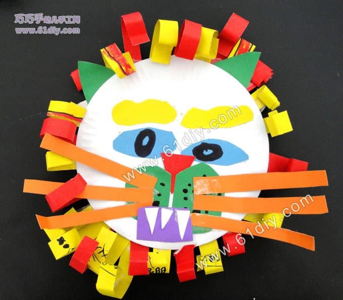幼儿园中班手工贴画