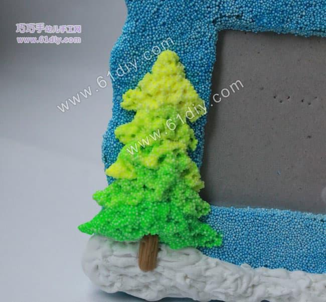 圣诞礼物diy——相框手工制作图解(2)_日用品彩泥_巧