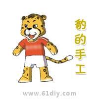 豹子简笔画-豹的手工制作专题