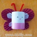 有关蝴蝶的手工 - bbfish - 宝宝乐园 幼儿手工 育儿