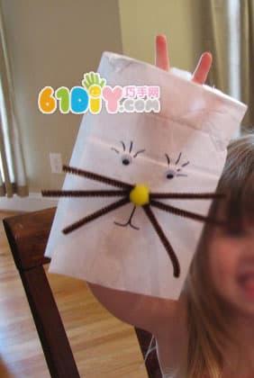 纸袋制作有趣的小动物