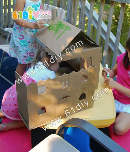 首页 环保手工 纸盒手工     树的手工制作教程:http://www.61diy.