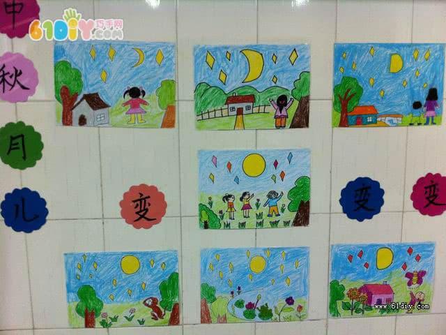 幼儿园中秋节环境布置(2)