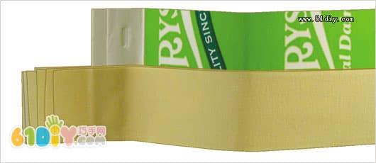 牛奶盒帆船模型制作_纸盒手工