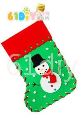 圣诞袜手工制作教程