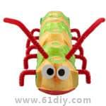 毛毛虫手工制作汇总 - bbfish - 宝宝乐园 幼儿手工 育儿