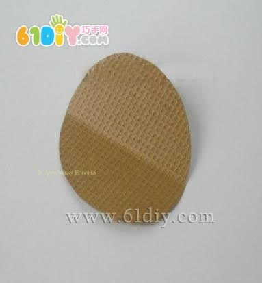 简单的圆纸片折纸圣诞树_树木折纸_巧巧手幼儿手工网