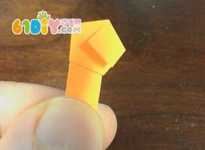 手工制作折纸幸运星