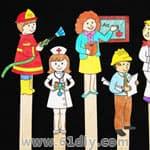 幼儿园手工教程——人物篇 - bbfish - 宝宝乐园 幼儿手工 育儿