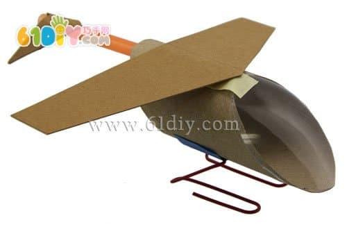 飞机模型(纸筒手工制作)