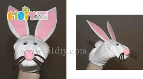 袜子制作兔子手偶