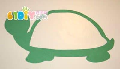 可爱的小乌龟手工