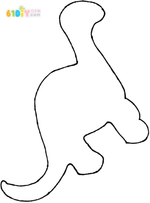 搓纸恐龙贴画_巧巧手幼儿手工网