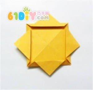 凳子立体折纸步骤图