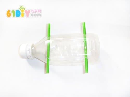 塑料瓶 制作小 汽车 瓶子手工 巧巧手幼儿手工