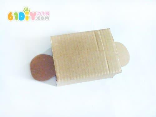 废纸盒制作可爱的小猴子