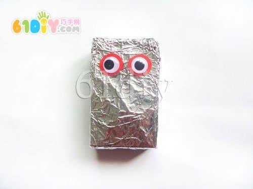 纸盒废物利用 外星人