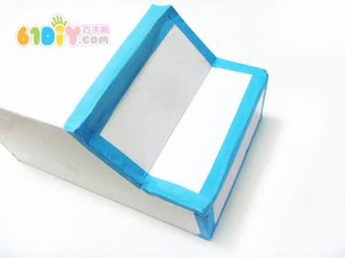 怎样制作纸盒小汽车_纸盒手工