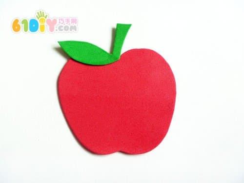 怎样用海绵纸制作水果
