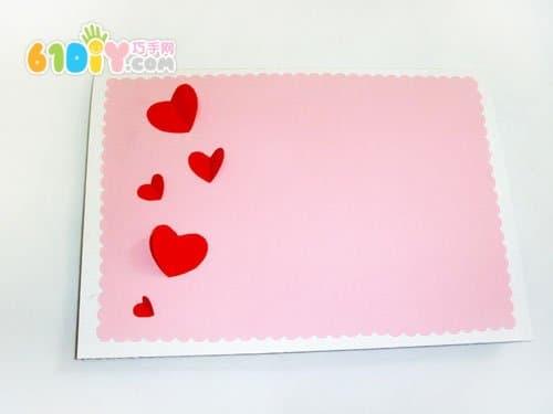 怎样制作教师节卡片 精彩贴画 巧巧手幼儿手