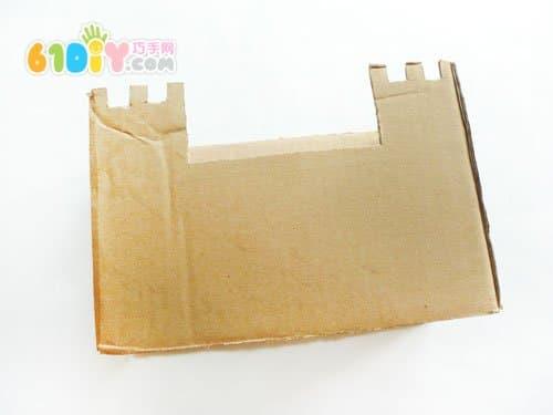 幼儿手工废纸盒制作