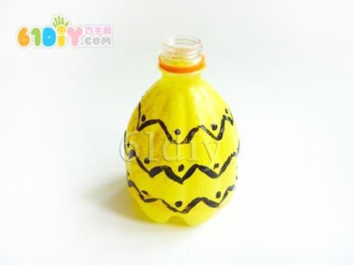 塑料瓶子手工制作菠萝