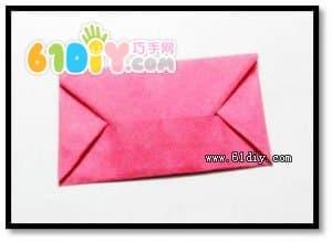 信封的简单折法