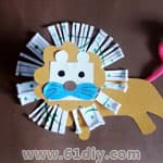 有关狮子的幼儿手工 - bbfish - 宝宝乐园 幼儿手工 育儿