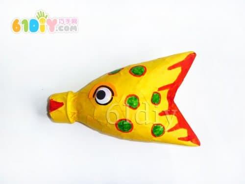 小鱼的折法图解