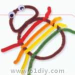 幼儿园手工——蜘蛛 - bbfish - 宝宝乐园 幼儿手工 育儿