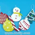 圣诞节亲子手工——圣诞树篇 - bbfish - 宝宝乐园 幼儿手工 育儿