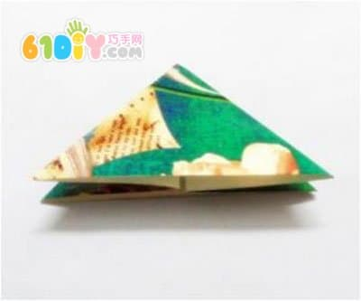 圣诞树折纸图解_树木折纸